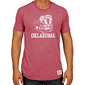 Original Retro Brand Men's Oklahoma Sooners Crimson Tri-Blend T-Shirt