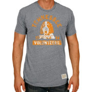 Original Retro Brand Men's Tennessee Volunteers Grey Tri-Blend T-Shirt