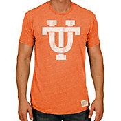 Original Retro Brand Men's Tennessee Volunteers Tennessee Orange Tri-Blend T-Shirt
