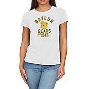Original Retro Brand Women's Baylor Bears Melanie White Tri-Blend T-Shirt