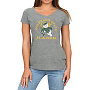 Original Retro Brand Women's Colorado State Rams Grey Megan Tri-Blend V-Neck T-Shirt