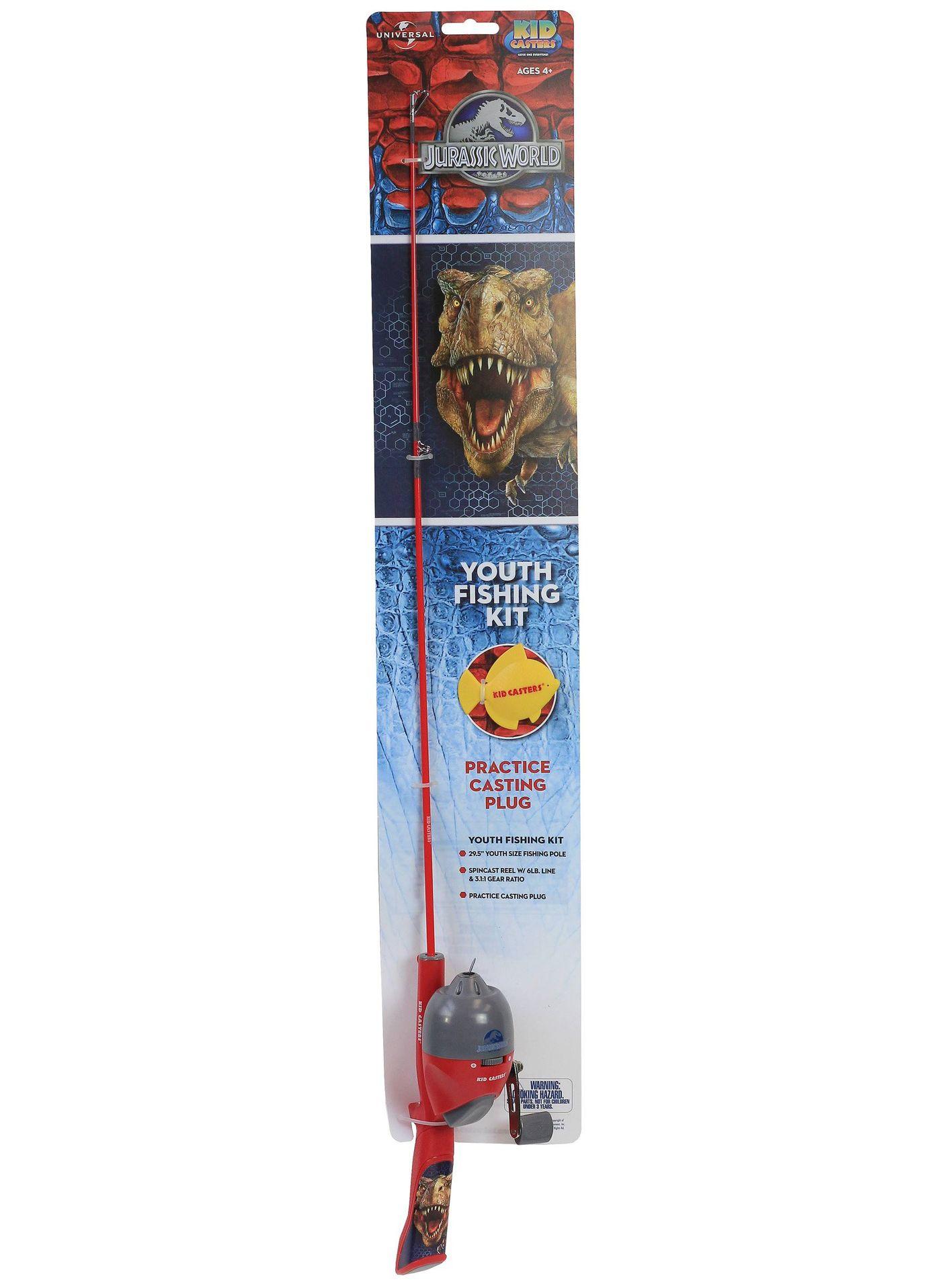 Lil' Anglers Jurassic World Youth Fishing Kit