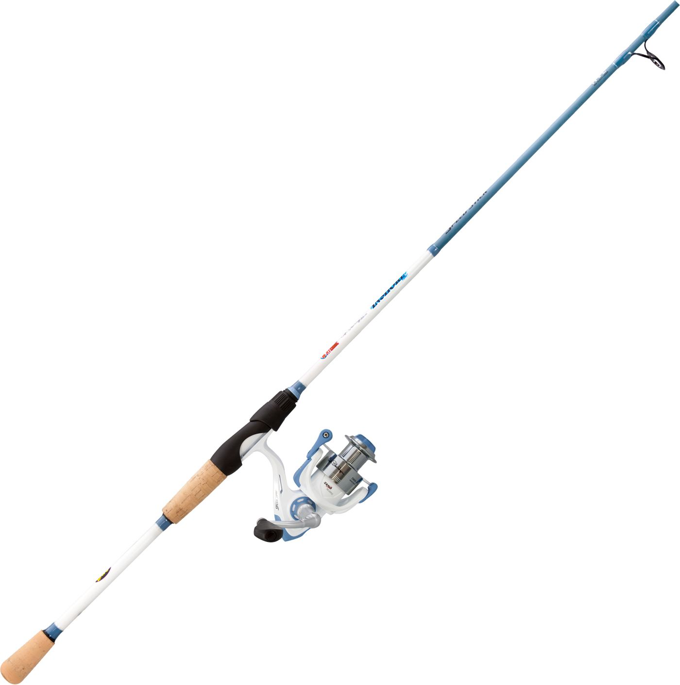 Lew's Blair Wiggins Blue Speed Stick Spinning Combo