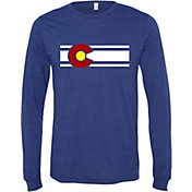 Colorado Limited Men's Colorado Flag Long Sleeve Shirt