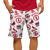 Loudmouth Men's St Louis Cardinals Golf Shorts