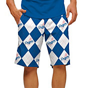 Loudmouth Men's Los Angeles Dodgers Golf Shorts
