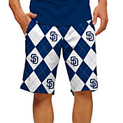 Loudmouth Men's San Diego Padres Golf Shorts
