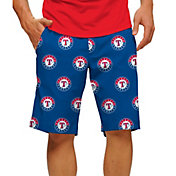 Loudmouth Men's Texas Rangers Golf Shorts