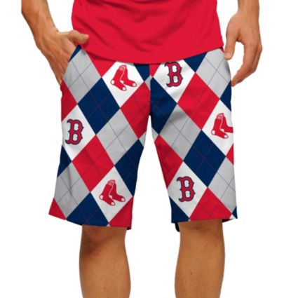 Loudmouth Men's Boston Red Sox Golf Shorts