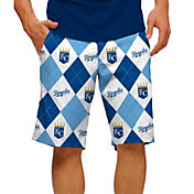 Loudmouth Men's Kansas City Royals Golf Shorts