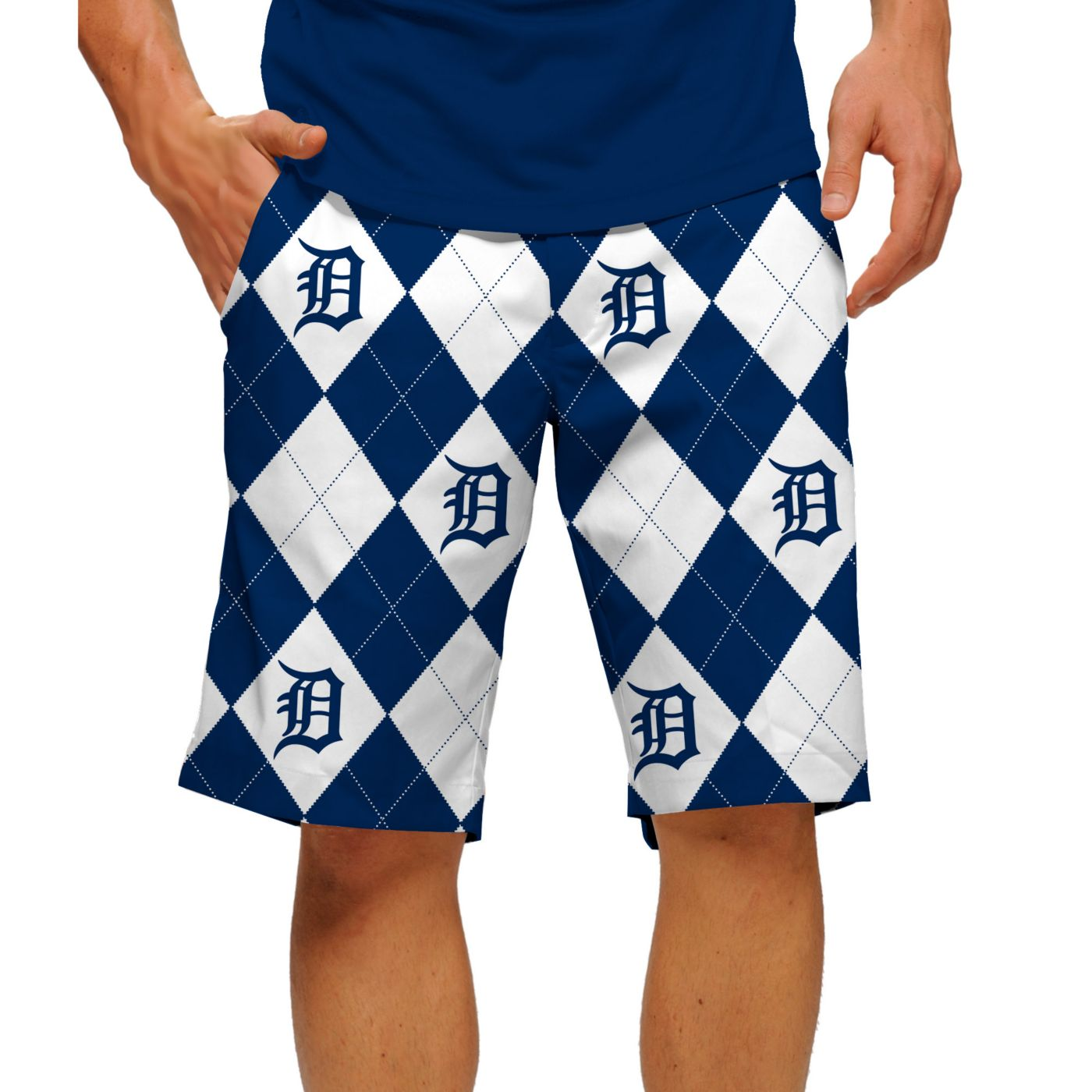 Loudmouth Men's Detroit Tigers Golf Shorts