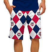 Loudmouth Men's Minnesota Twins Golf Shorts