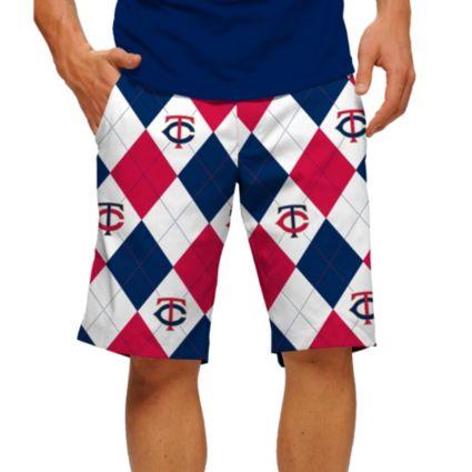 Loudmouth Men's Minnesota Twins Golf Shorts