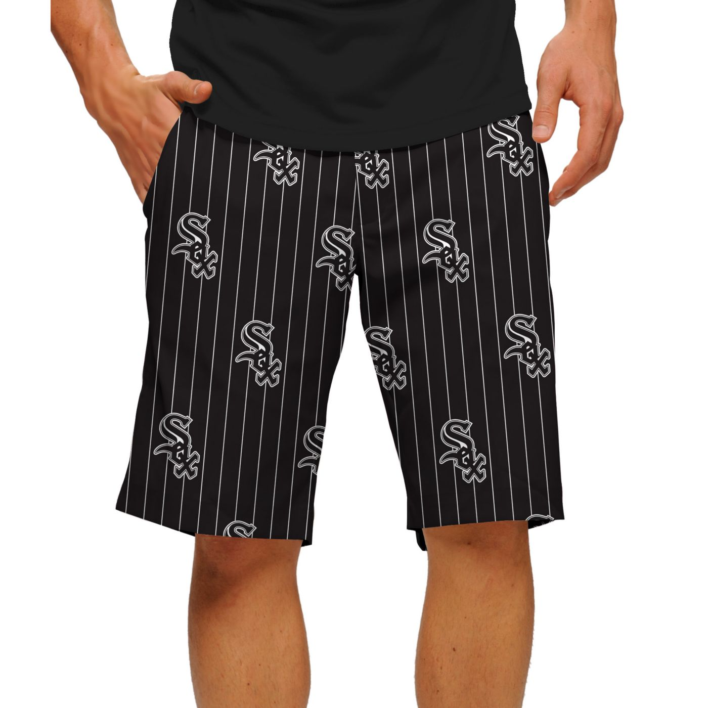 Loudmouth Men's Chicago White Sox Golf Shorts