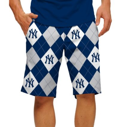 Loudmouth Men's New York Yankees Golf Shorts