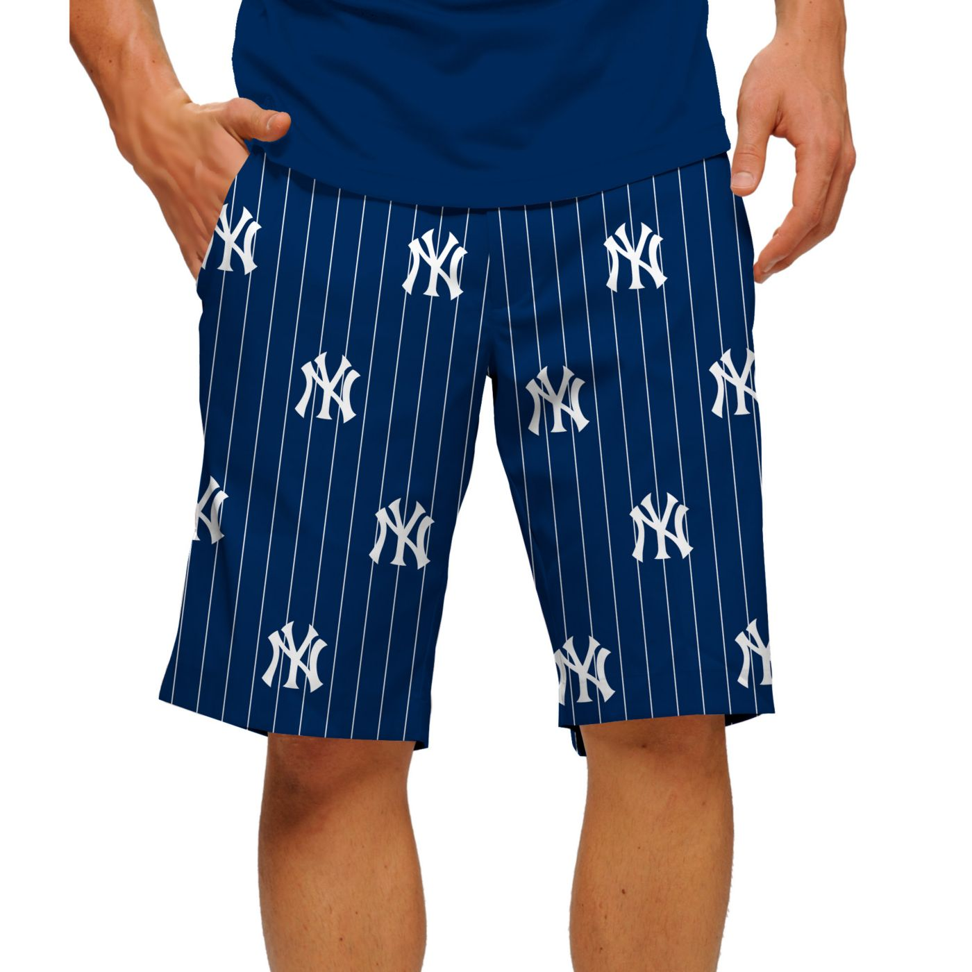 Loudmouth Men's New York Yankees Golf Shorts