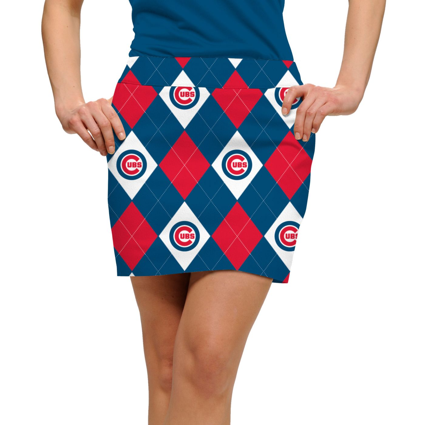 Loudmouth Women's Chicago Cubs Golf Skort