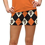 Loudmouth Women's San Francisco Giants Golf Mini Shorts