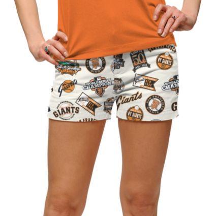Loudmouth Women's San Francisco Giants Golf Mini Shorts