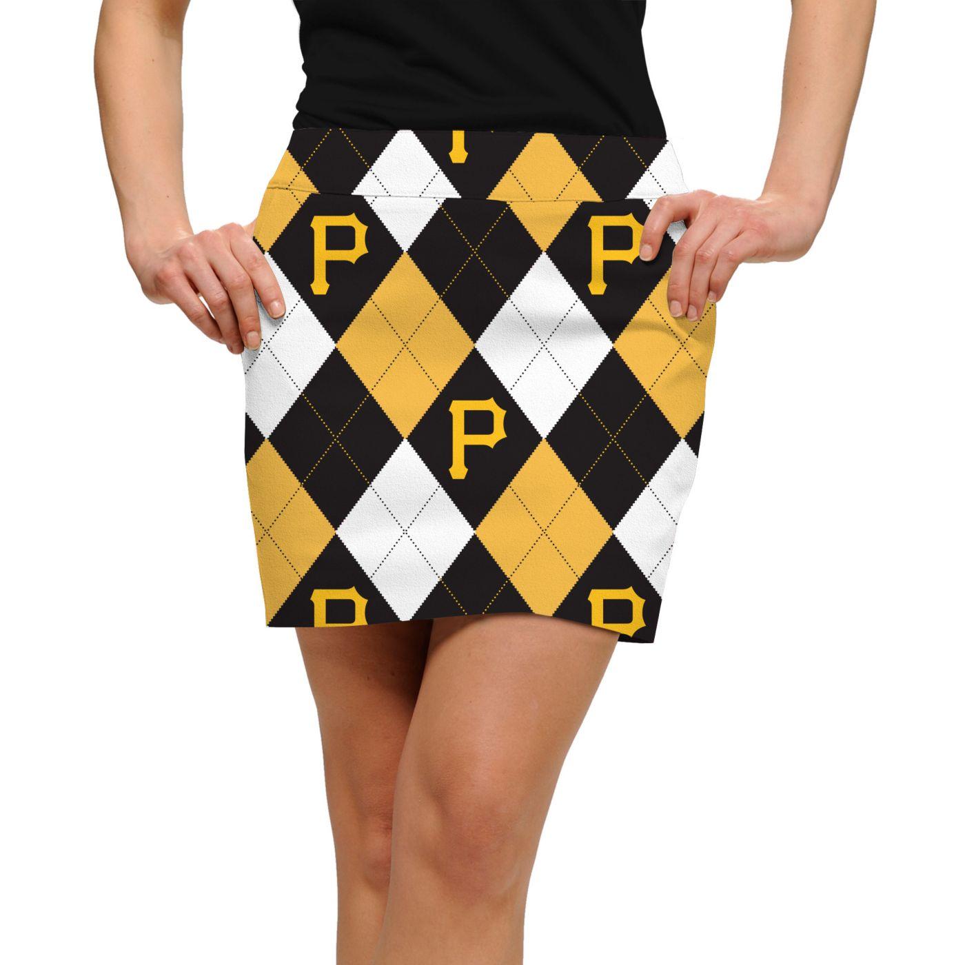 Loudmouth Women's Pittsburgh Pirates Golf Skort