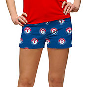 Loudmouth Women's Texas Rangers Golf Mini Shorts