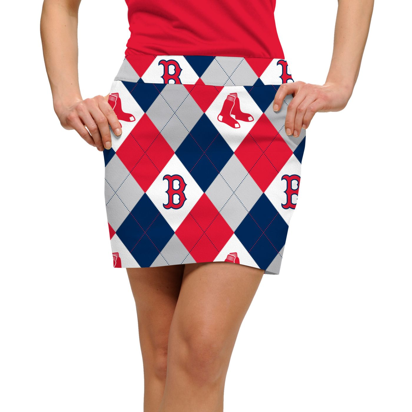 Loudmouth Women's Boston Red Sox Golf Skort