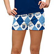 Loudmouth Women's Kansas City Royals Golf Mini Shorts