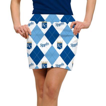 Loudmouth Women's Kansas City Royals Golf Skort
