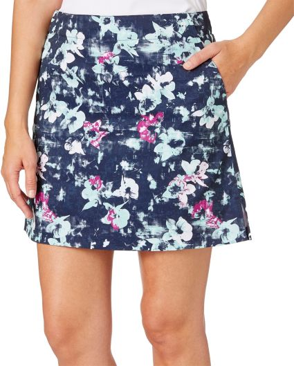 Lady Hagen Women's Georgetown Collection Floral Print Golf Skort