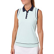 Lady Hagen Women's Georgetown Collection Piped Racerback Golf Polo