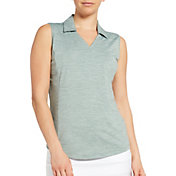 Lady Hagen Spacedye Sleeveless Golf Polo