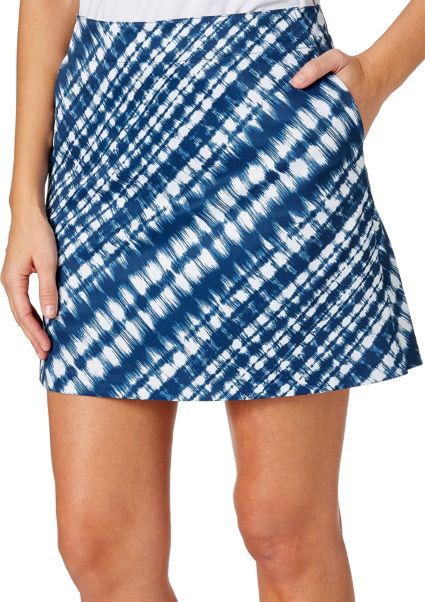 Lady Hagen Women's Americana Collection Tie Dye Printed Golf Skort
