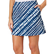 Lady Hagen Women's Americana Collection Tie Dye Printed Golf Skort - Plus Size