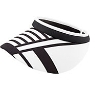 Lady Hagen Women's Twilight Collection Stripe Wide Brim Golf Visor