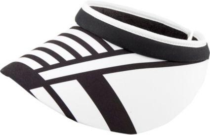 Lady Hagen Women's Twilight Collection Stripe Wide Brim Visor
