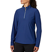 Lady Hagen Women's UV Long Sleeve Golf 1/4-Zip - Plus Size