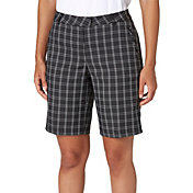 Lady Hagen Women's Twilight Collection Plaid Golf Bermuda Shorts