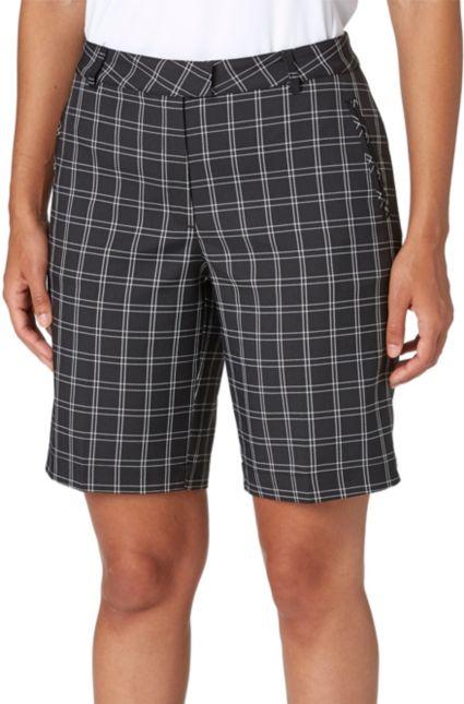 Lady Hagen Women's Twilight Collection Plaid Golf Bermuda Shorts
