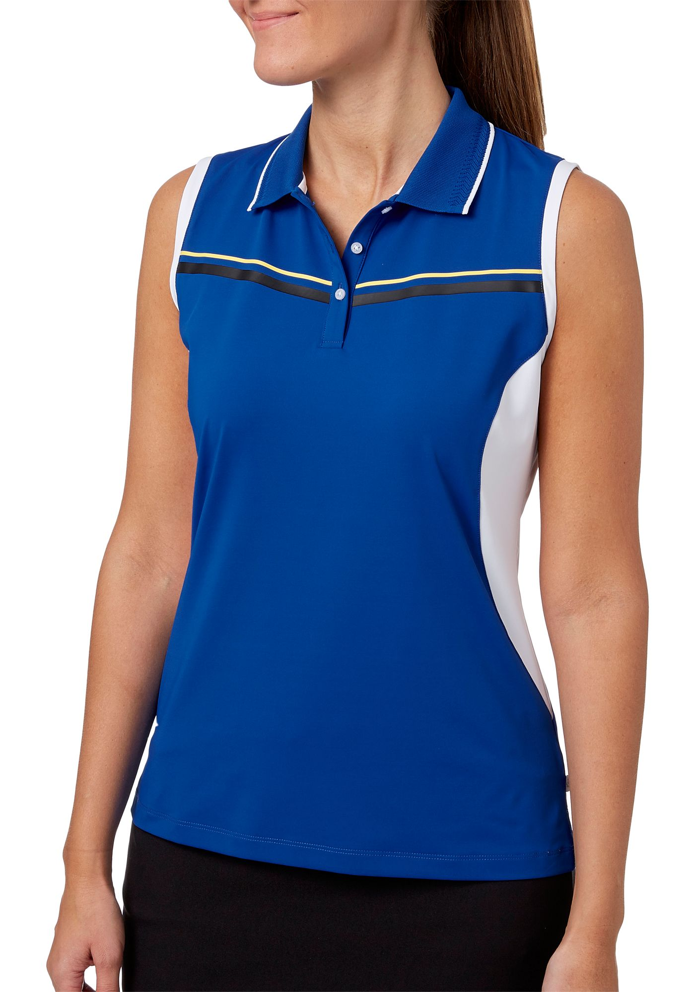 Lady Hagen Women's Winter's Night Collection Sleeveless Golf Polo