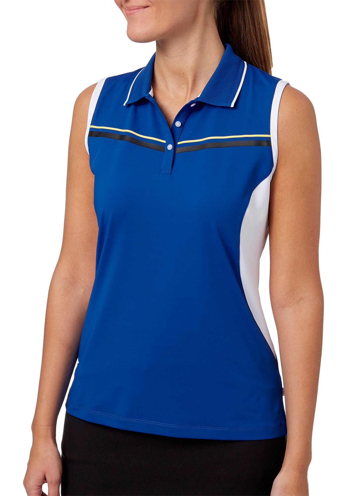 Lady Hagen Women's Winter's Night Collection Sleeveless Golf Polo