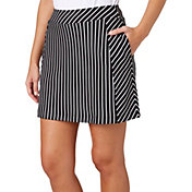 Lady Hagen Women's Winter's Night Collection Knit Stripe Golf Skort