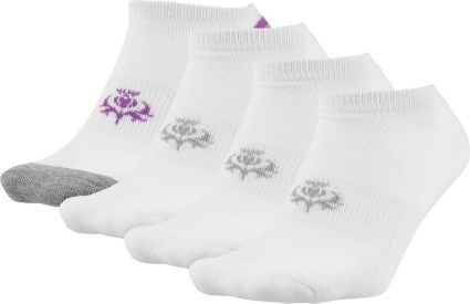 Lady Hagen Women's Sport Cut Socks - 4 Pack