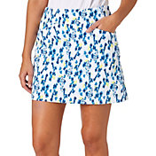 Lady Hagen Women's Watercolor Collection Floral Printed Golf Skort - Plus Size