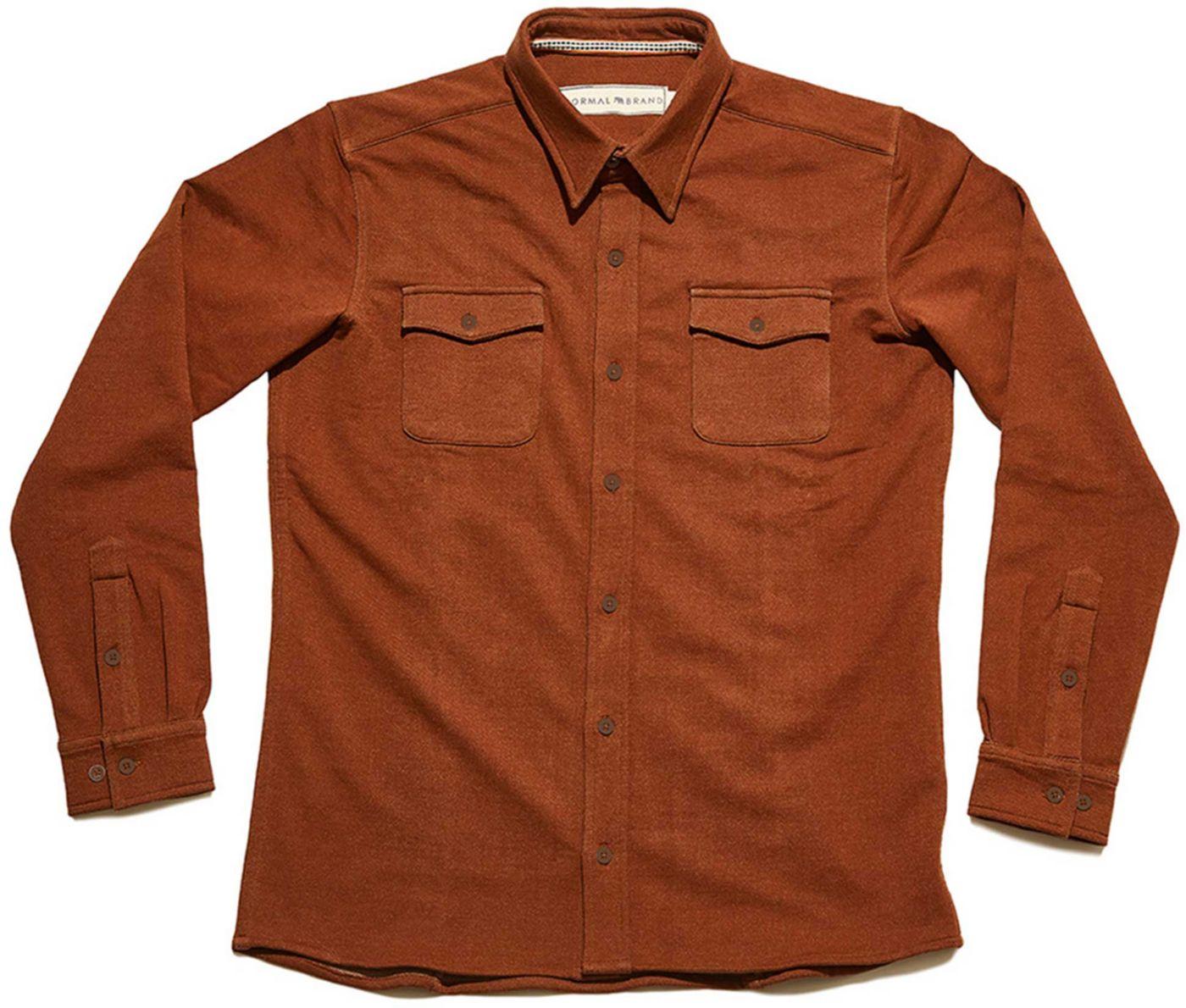 The Normal Brand Men's Knit Workman Shirt Jacket