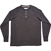 The Normal Brand Men's Puremeso Henley Raglan Long Sleeve Shirt