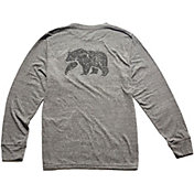 The Normal Brand Men's Worn-In Bear Pocket Long Sleeve Shirt