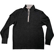 The Normal Brand Men's Puremeso ¼ Zip Long Sleeve Shirt