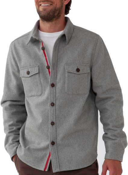 The Normal Brand Men's Senior Wool Shirt Jacket