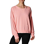 Betsey Johnson Women's Slit and Distressed Pullover