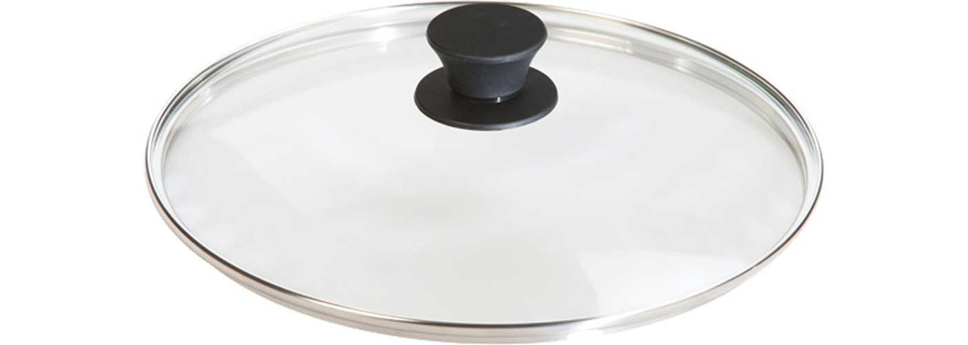 "Lodge 10.25"" Tempered Glass Lid"